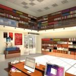 AIR DOOR VORTICE - ambientata libreria