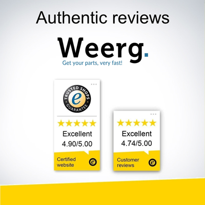 Weerg certificata TrustedShops