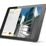 13229018 - high-detailed black tablet pc on white background, 3d render